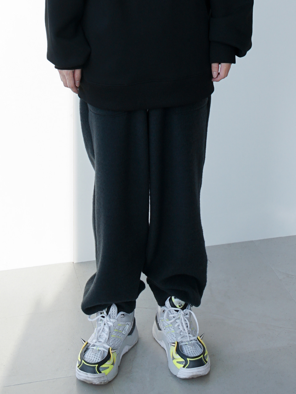 Record Knitted Jogger Pants (3color)
