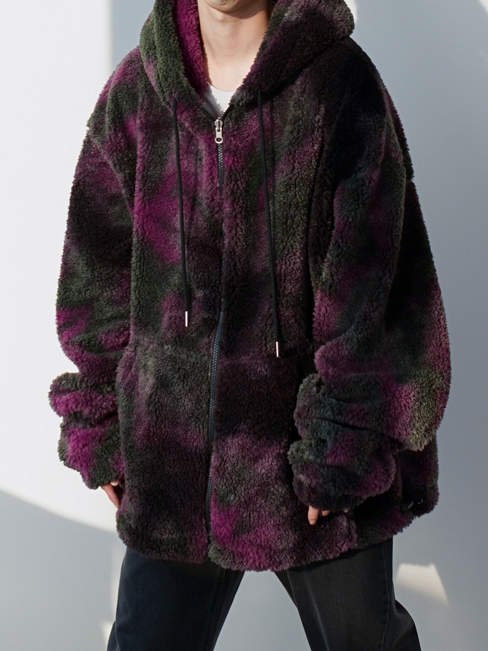 Boys Tie-Dye Hooded Jacket (2color)