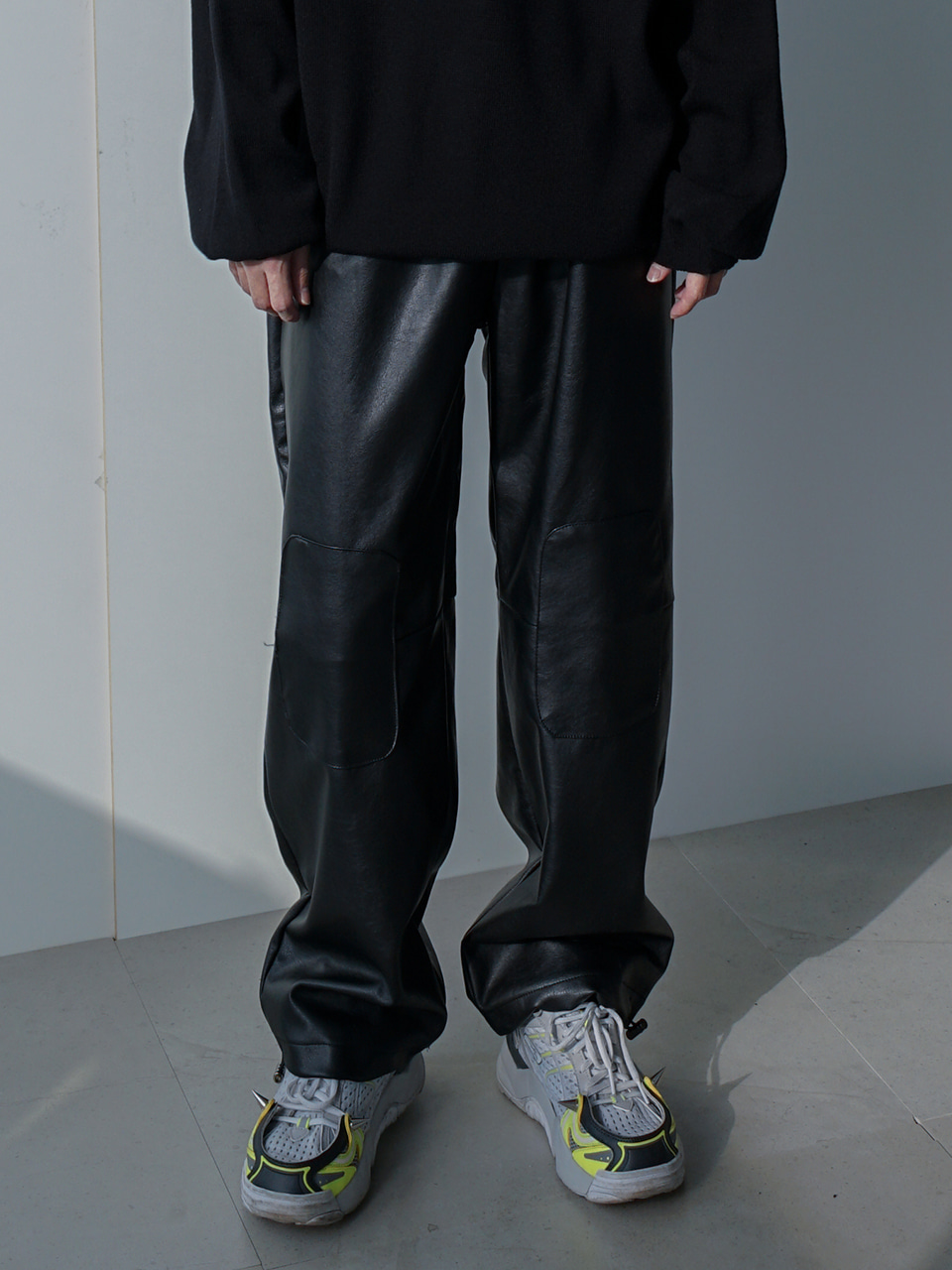 Hardy Patched Track Pants Black