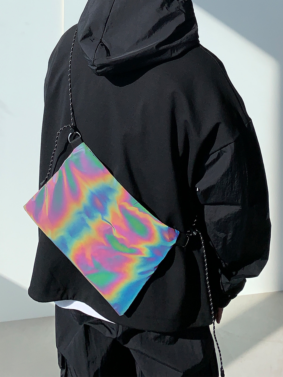 Joel Reflective Sacoche Bag