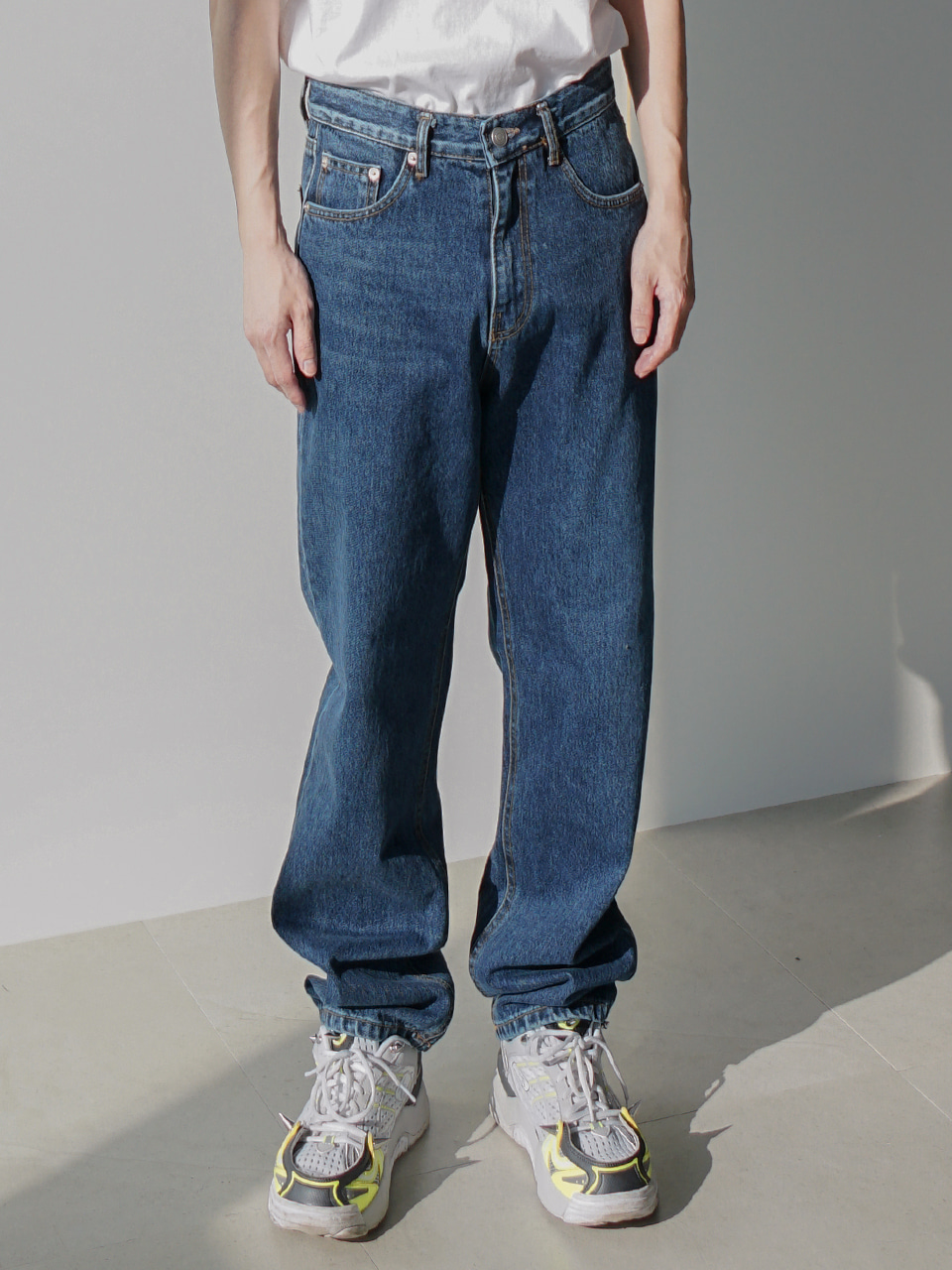 Rone Regular Jeans Medium Blue