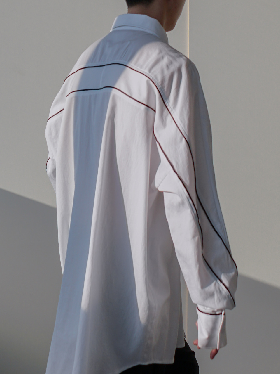 Minor Oversized Line Shirt (2color)