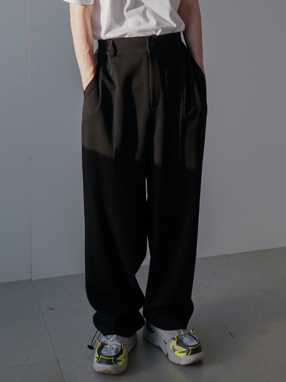 Island Shirring Trousers (2color)