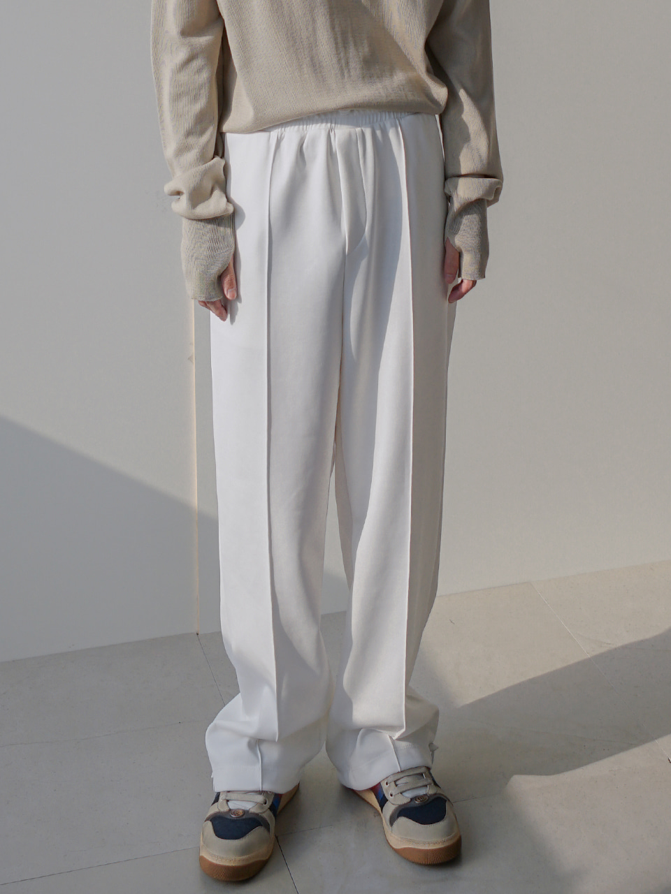 Elliott Track Pants With String (2color)