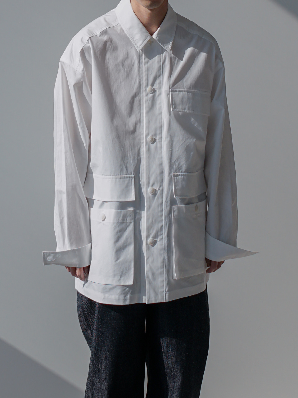 Our Relaxed Shirt Jacket (3color)