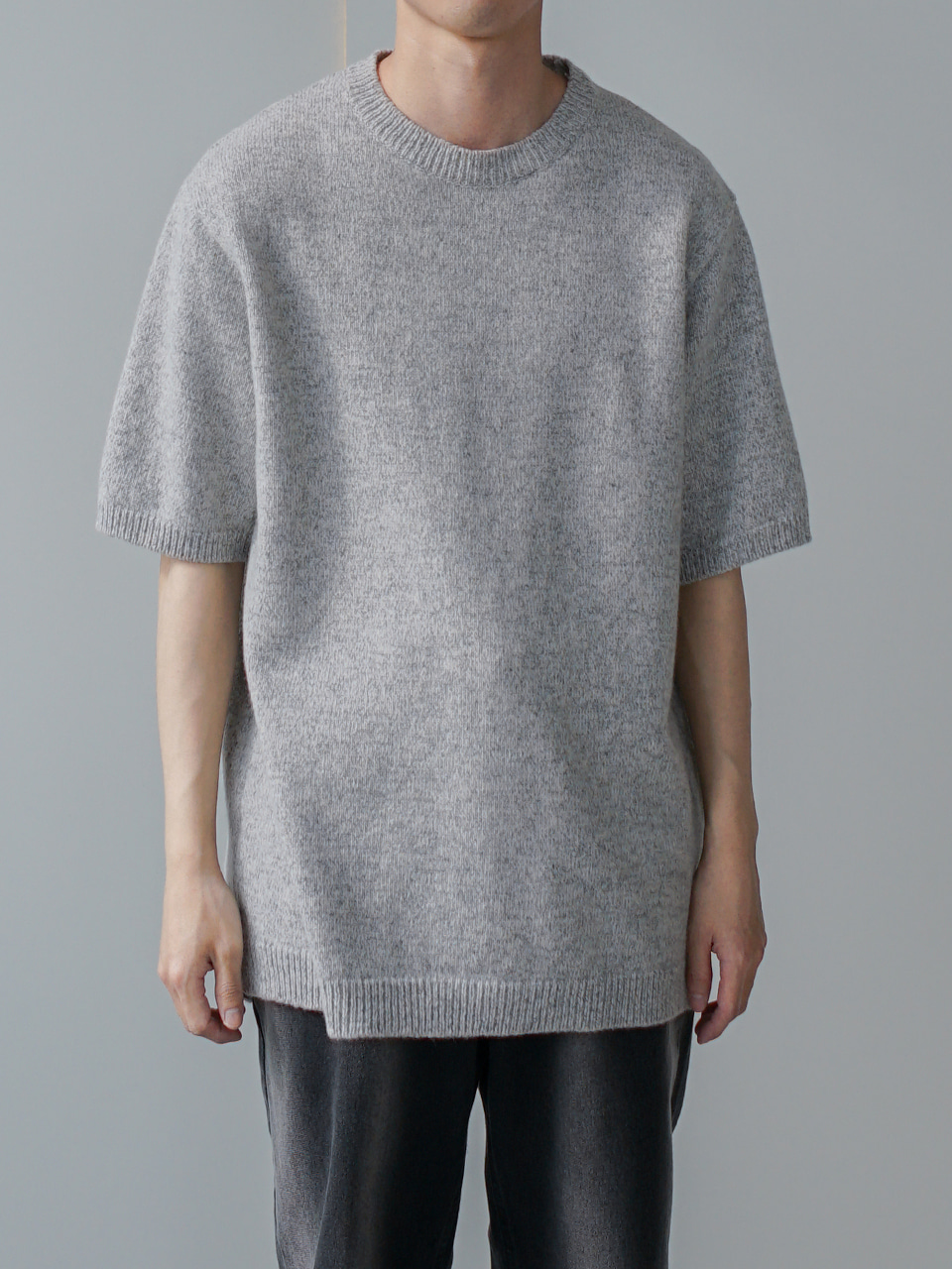 Owen Patterned Half Knit (3color)