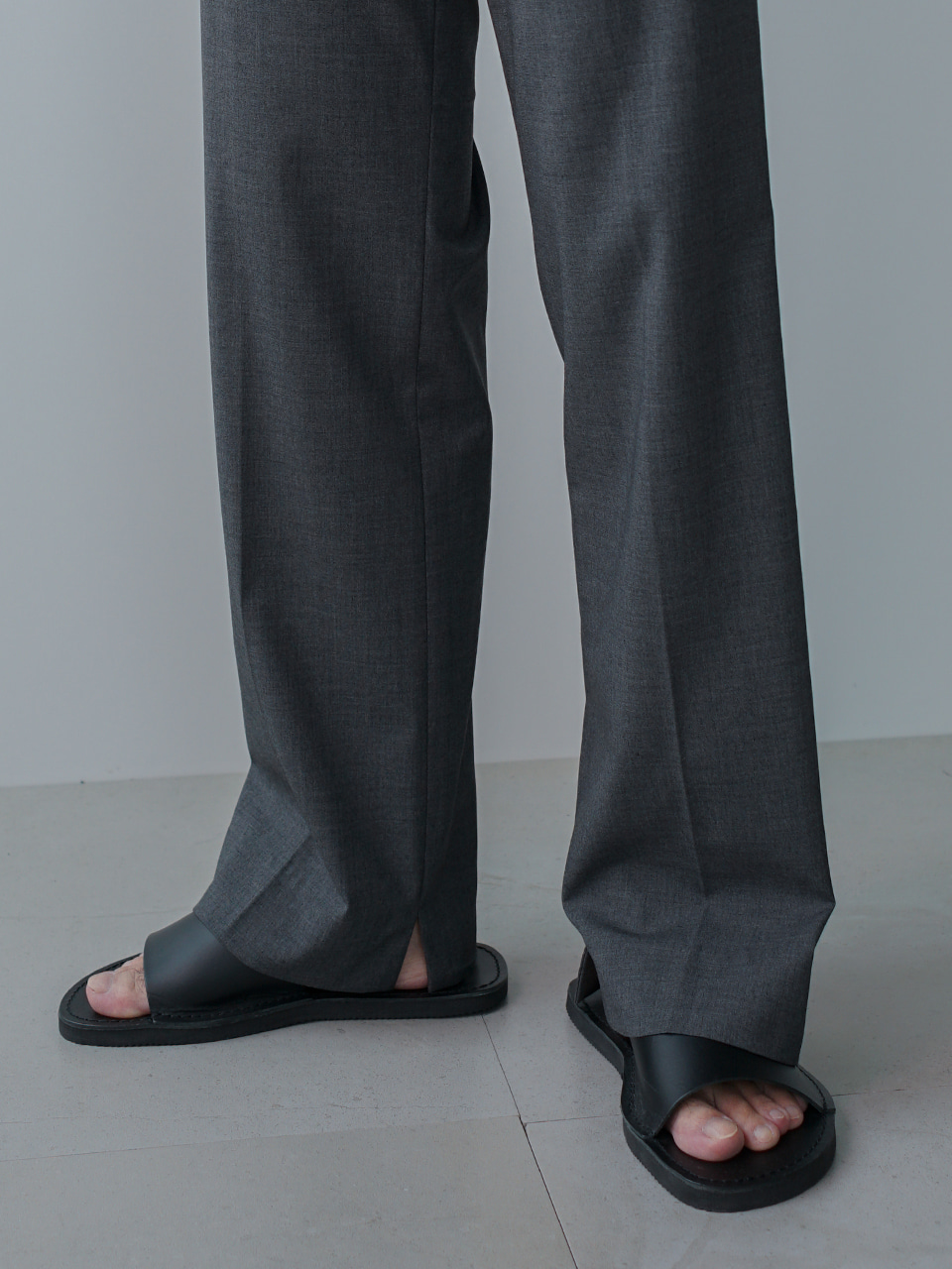 Last Side Vented Summer Trousers (4color)