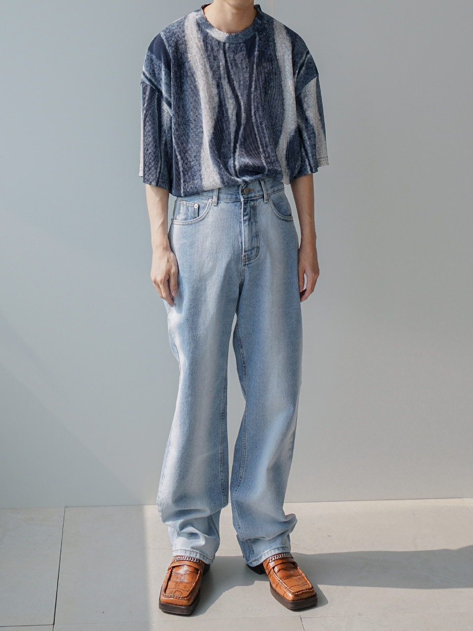 West Washed Jeans Light