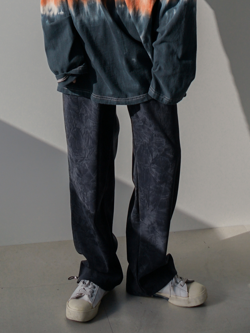 Prep String Track Pants (3color)
