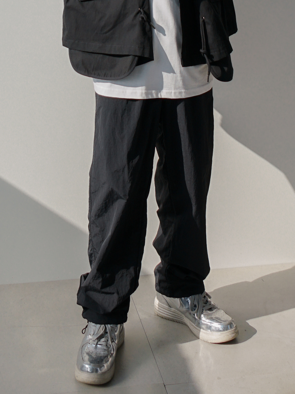 Mod Elastic Track Pants (2color)