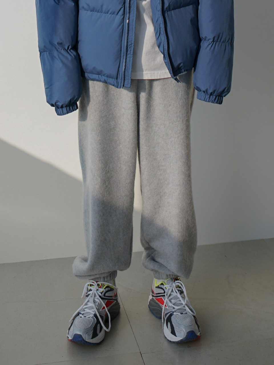 Tulle Fleece Sweatpants (2color)