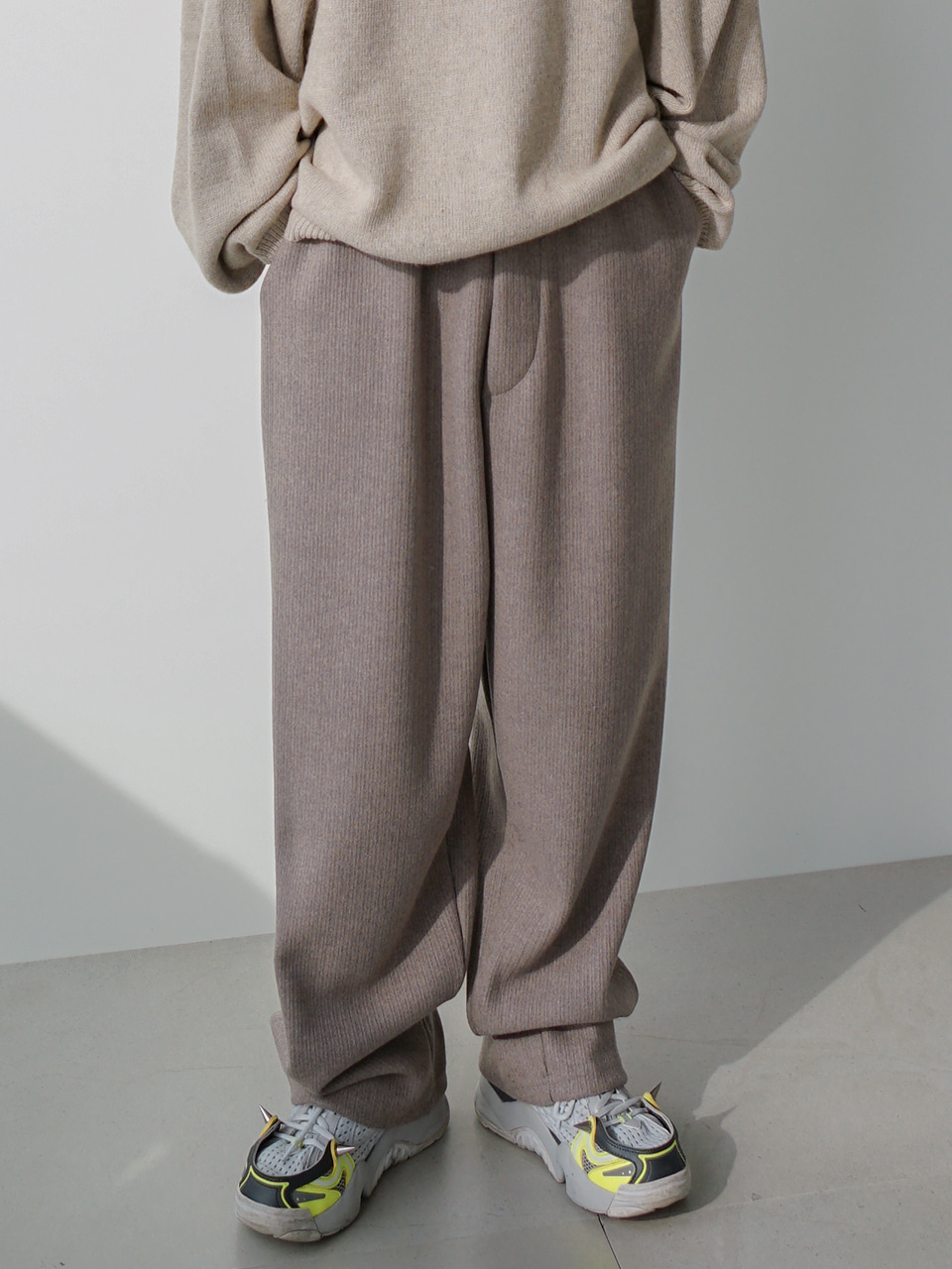 Form Knit Wide Pants (2color)