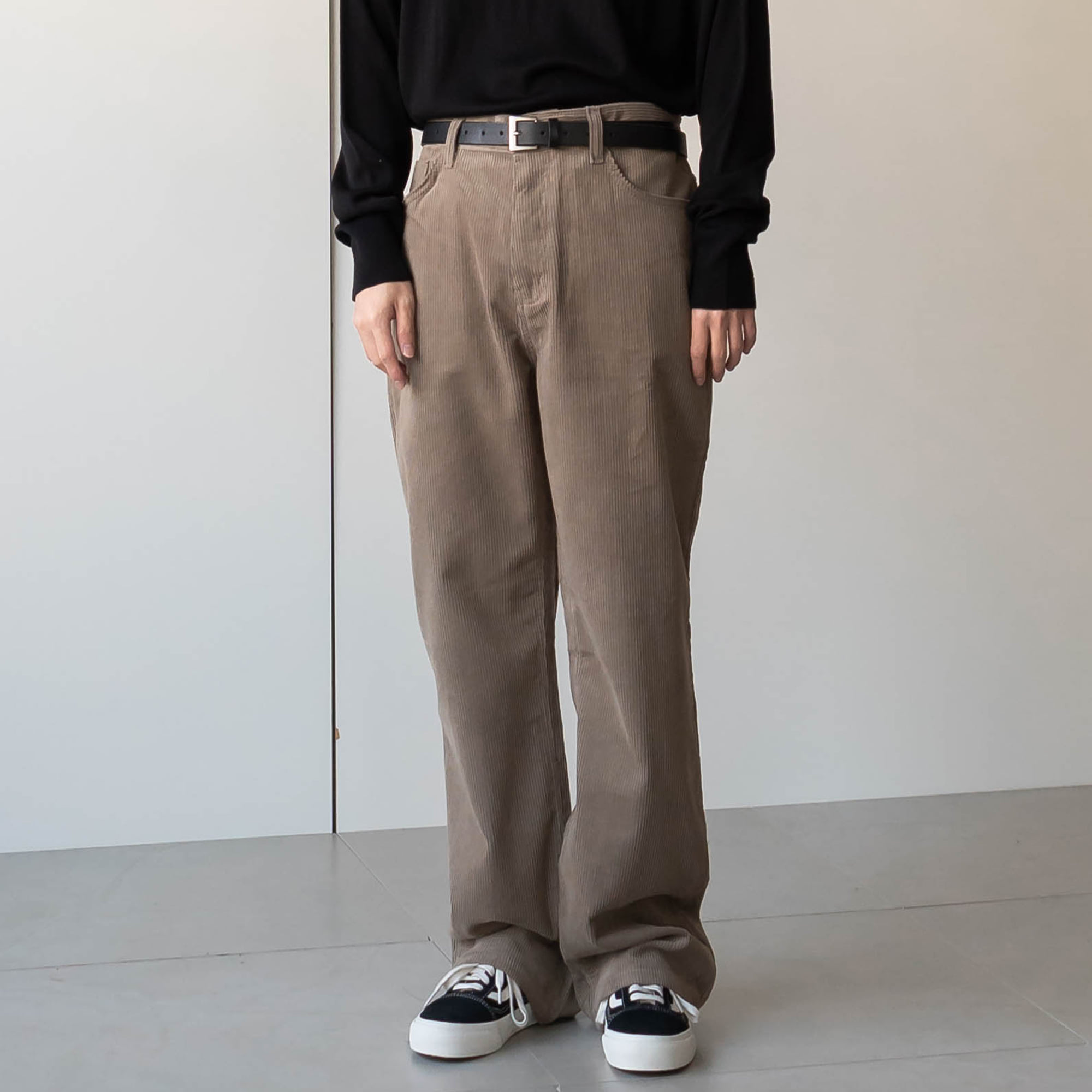 Rone Corduroy Wide Trousers (3color)