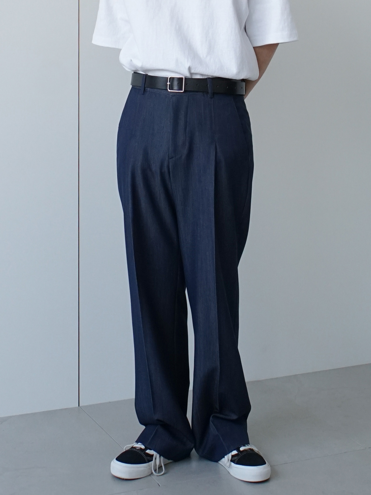 Still Dart Indigo Wide Trousers