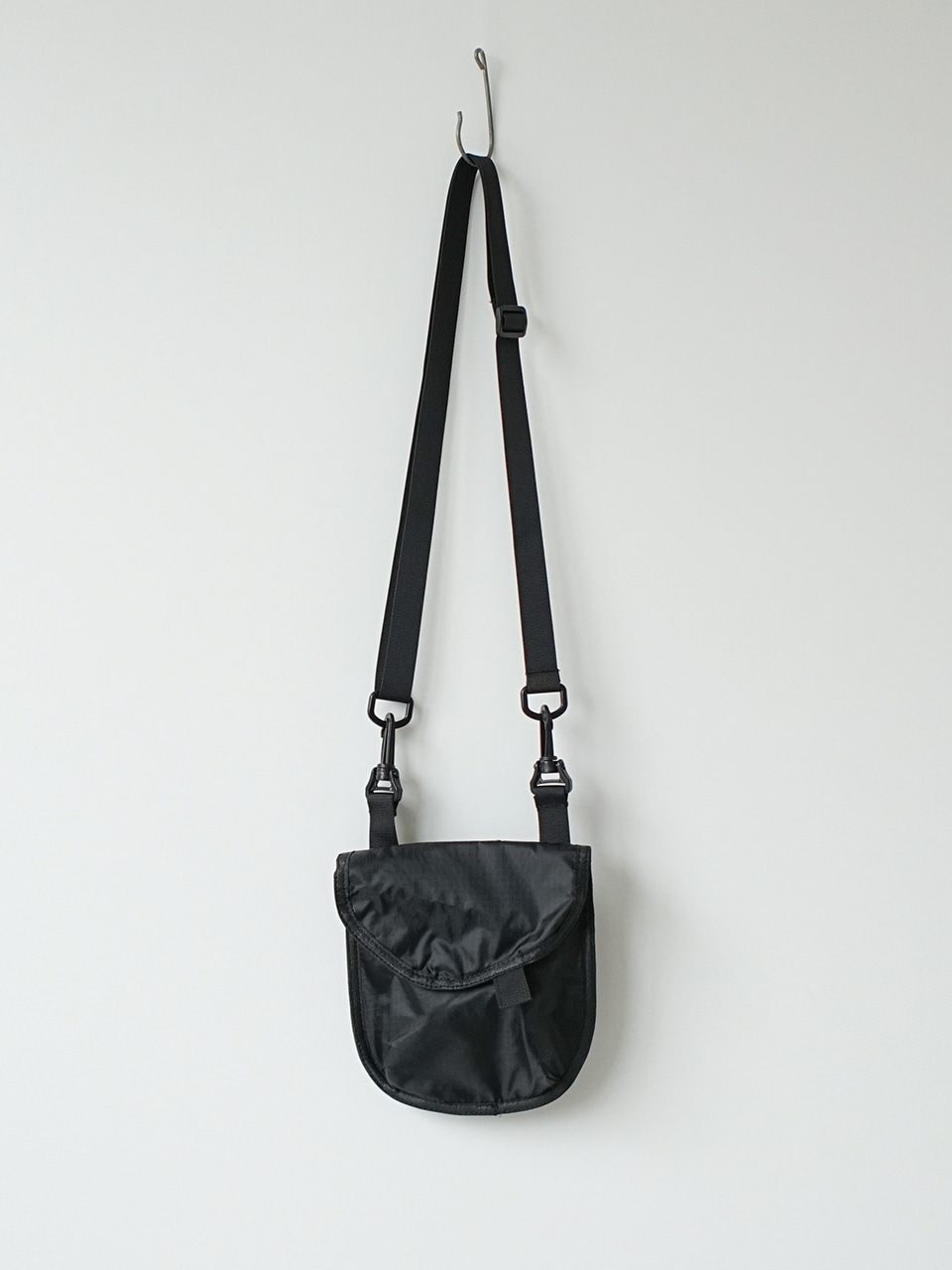 Addin Ripstop Cross Bag Black