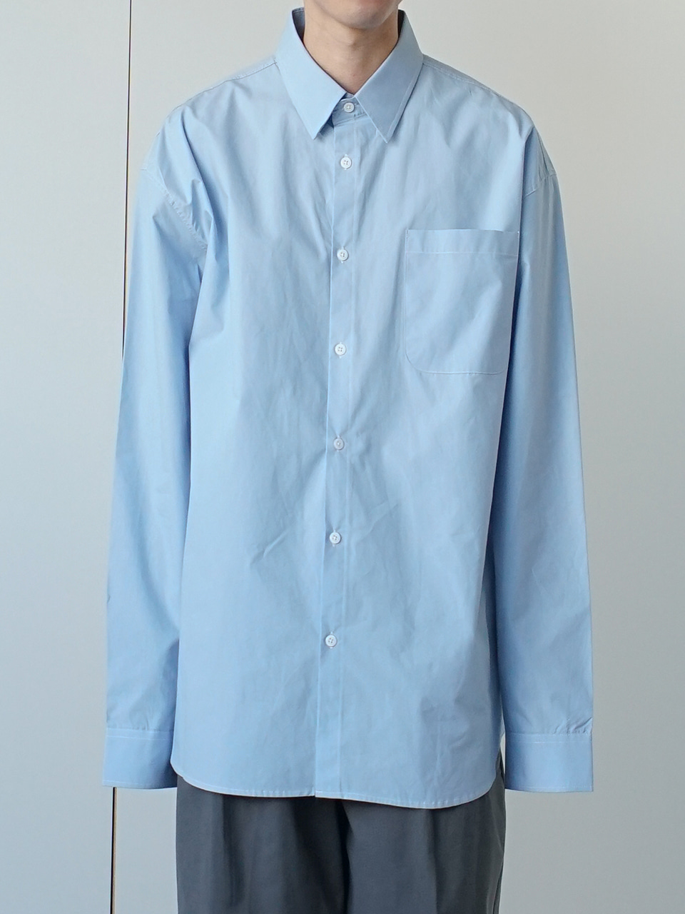 Bay Relaxed Oxford Shirt (3color)
