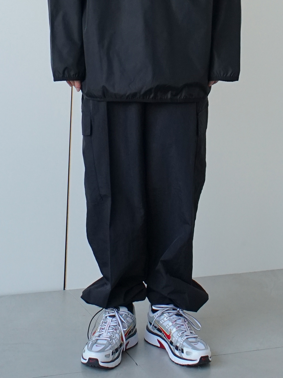 Reach Nylon Cargo Track Pants (3color)