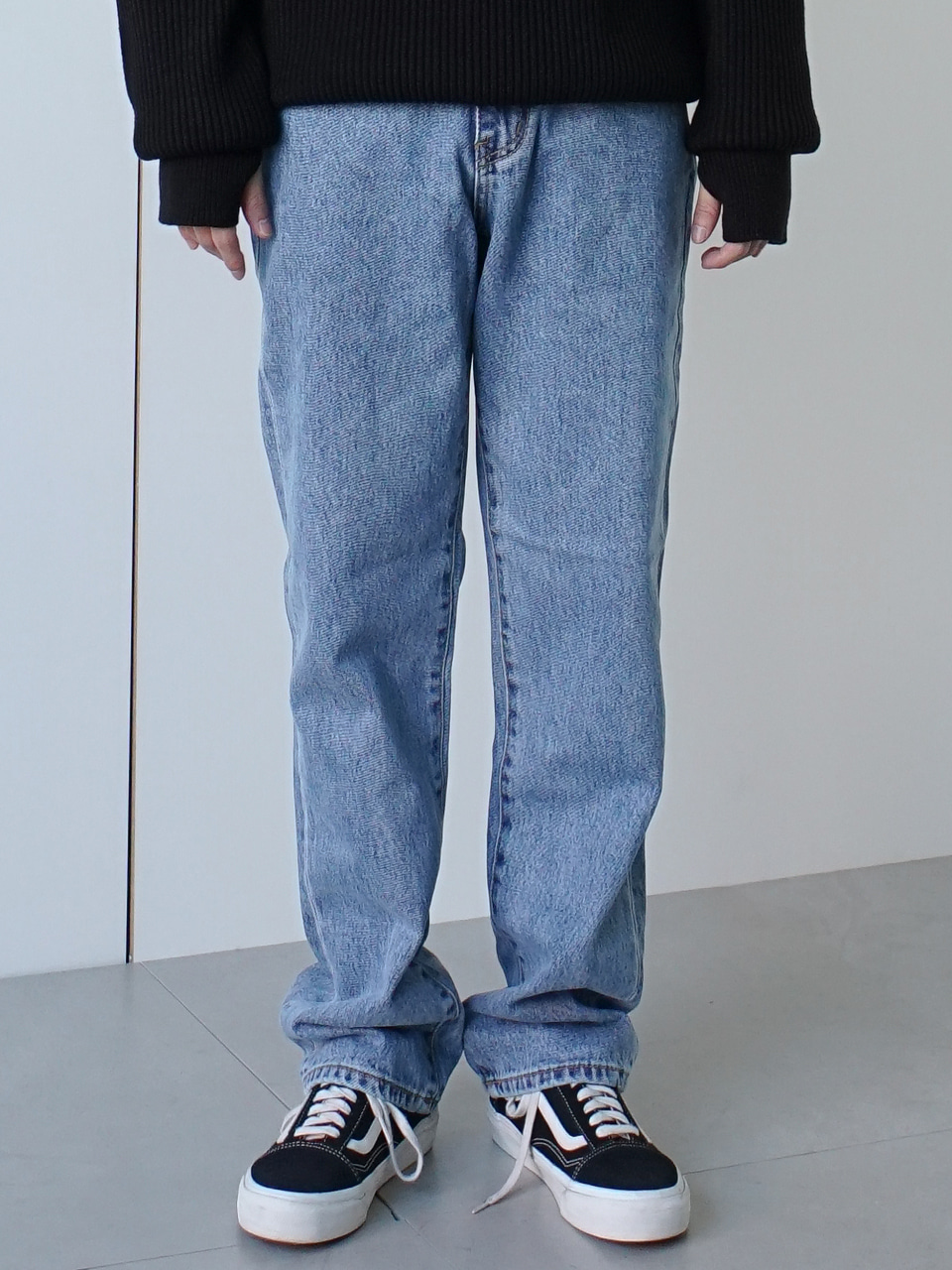 Stan Straight Denim Pants (2color)