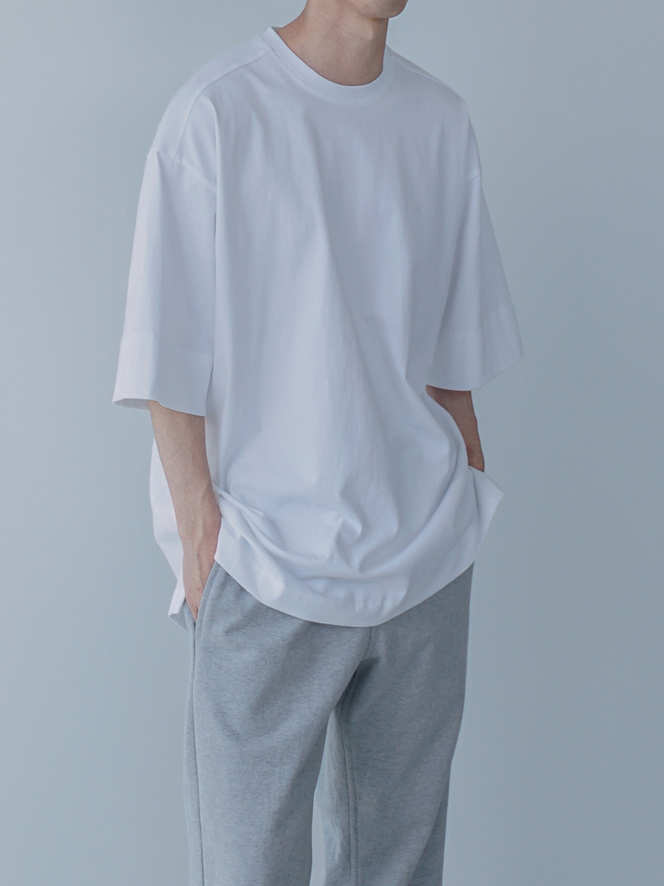 Tale Oversized Half Tee (3color)