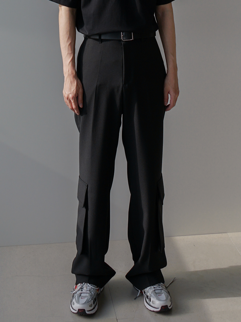 Mela Cargo Wide Trousers (3color)