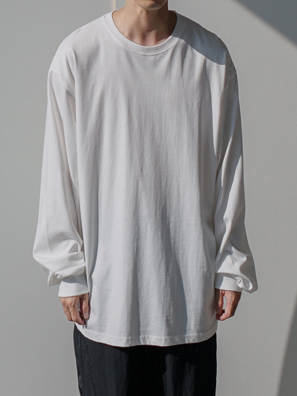 More Relaxed Long Sleeve Tee (6color)