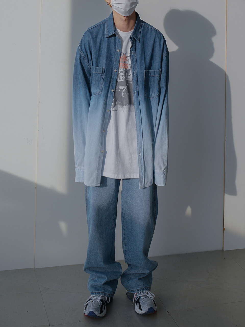 Gram Gradation Denim Shirt