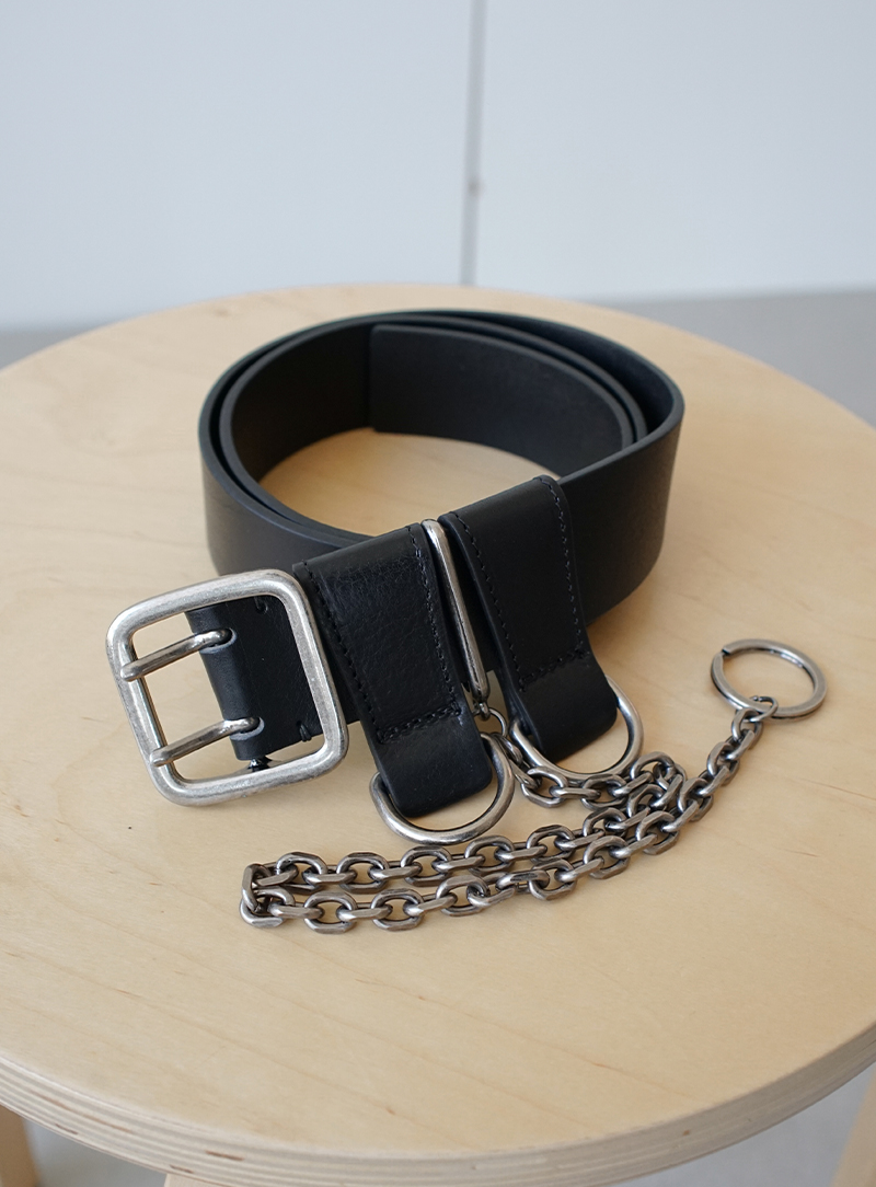 Chain Leather Belt