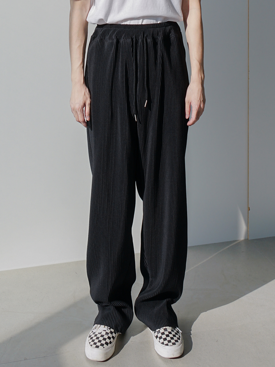 Raise Pleats Pants (2color)