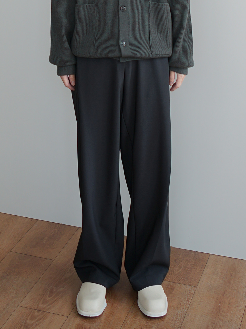 Center Banding Trousers (2color)