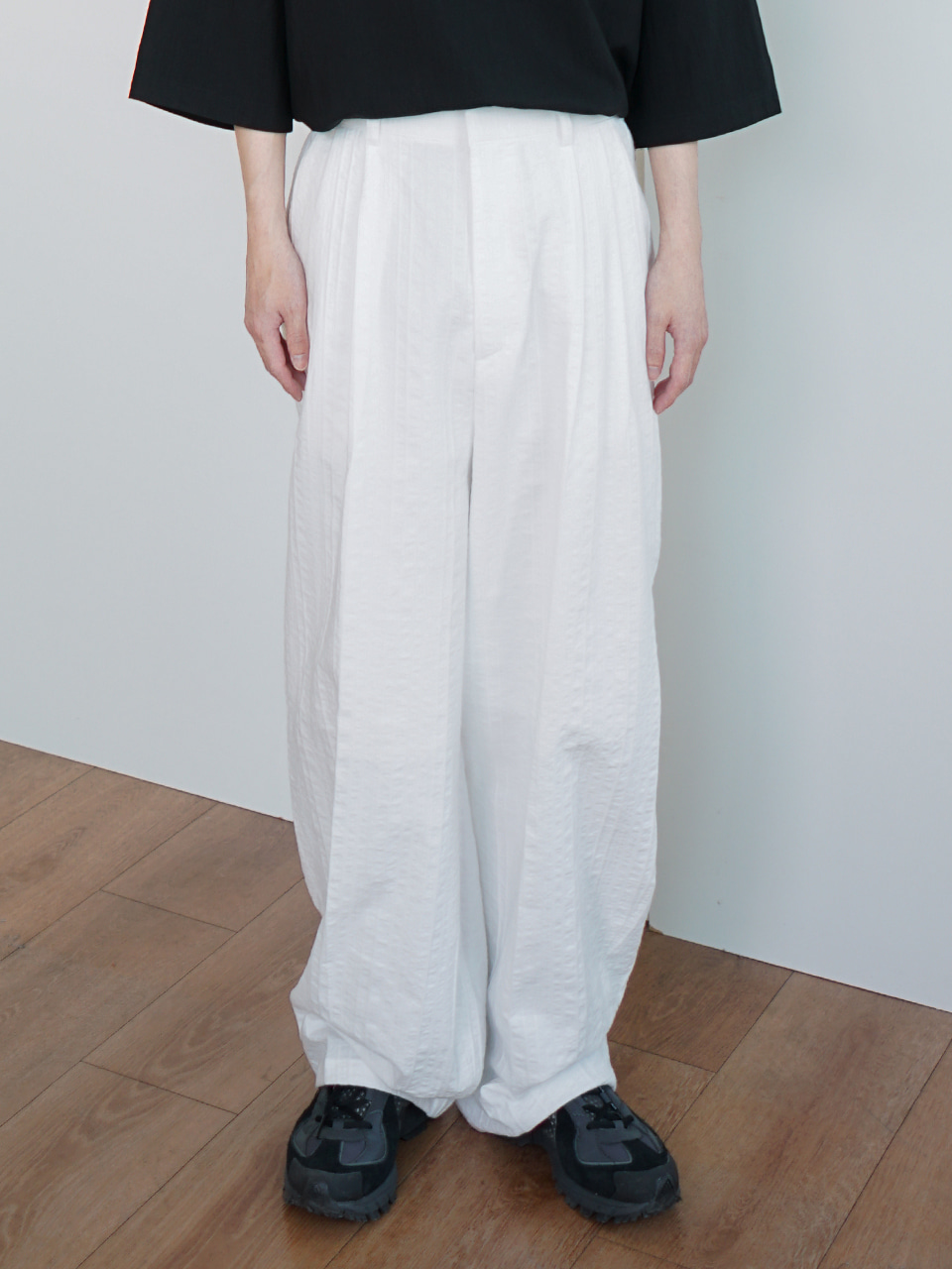 Platte Linen Trousers (2color)