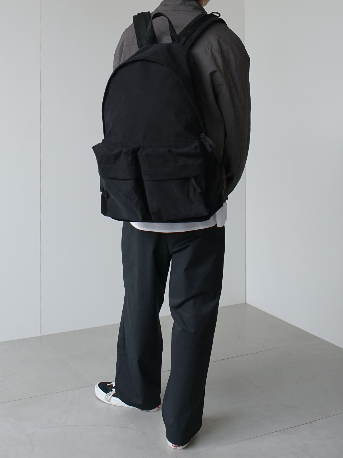 Daily Two Pocket Backpack (2color)