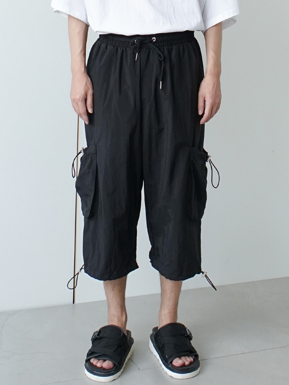 Hance Half Cargo Pants (2color)