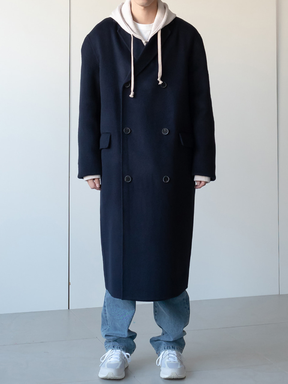 Jaden Wool Handmade Double Coat (5color)