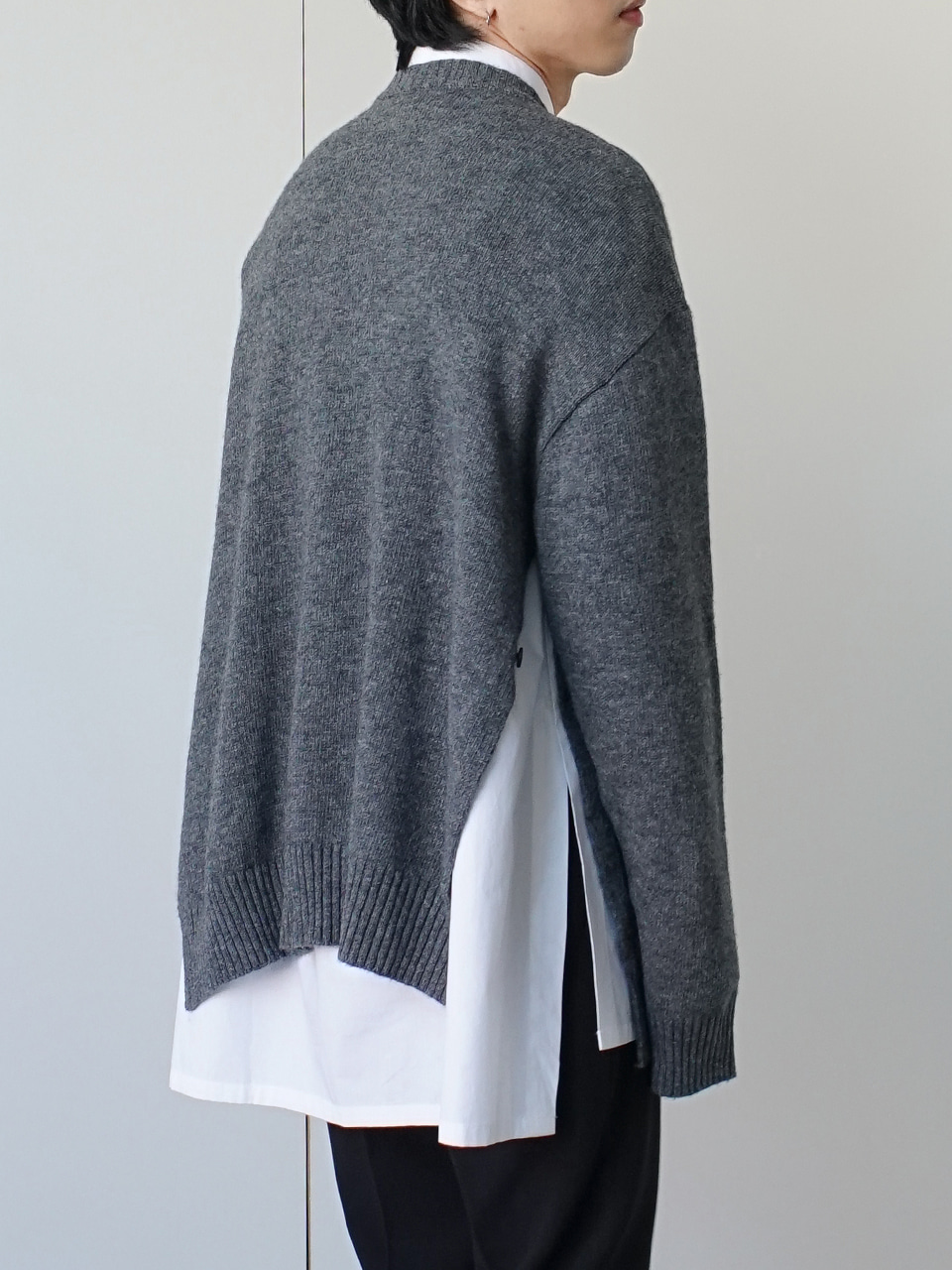 Lukas Side Vent Knit (3color)