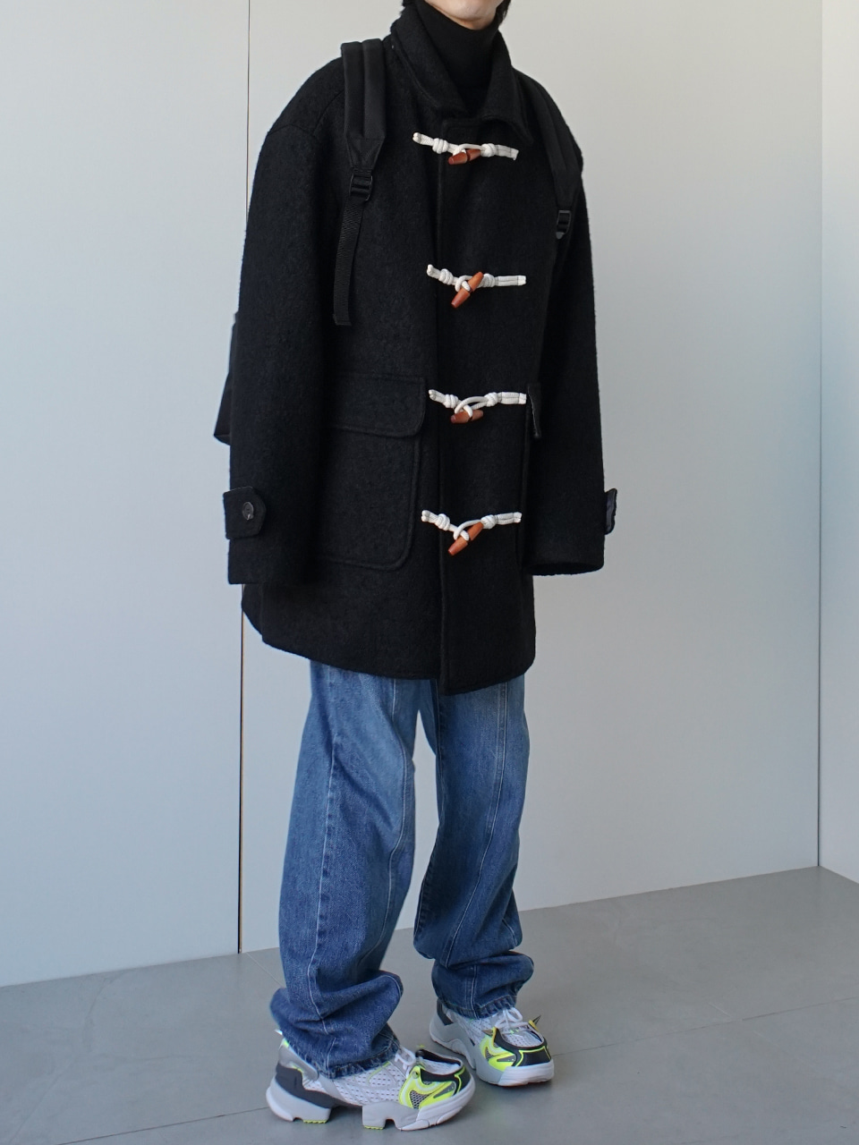 Seismic Duffle Coat (3color)