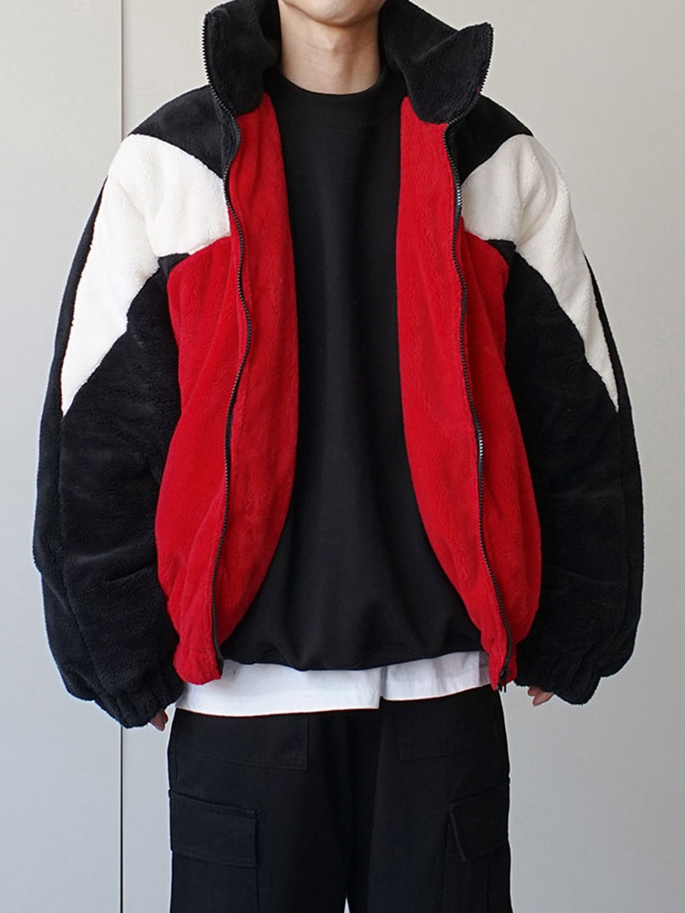 Hype Raglan Fleece Jacket (2color)