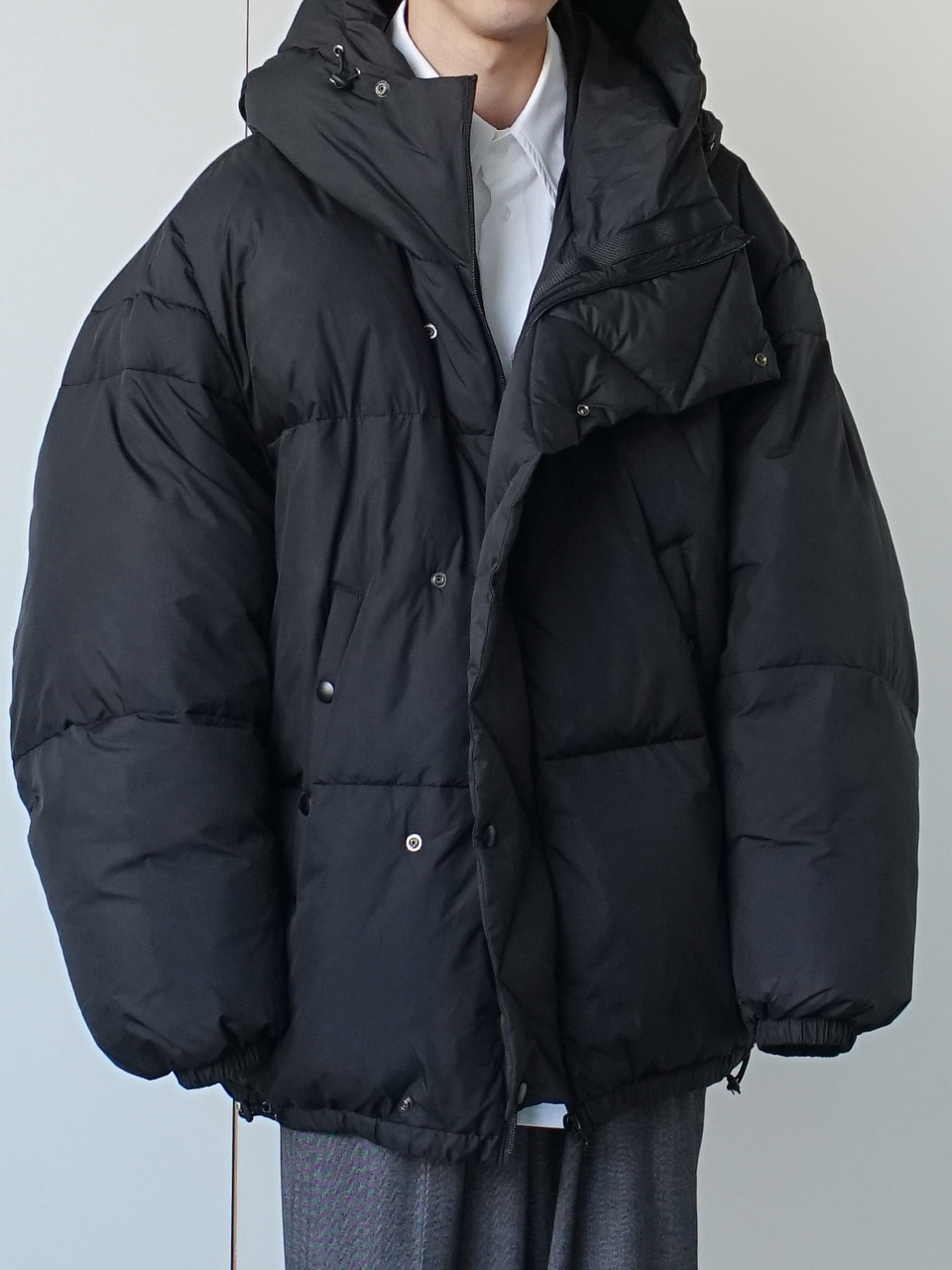Lower Duck Down Jacket (4color)