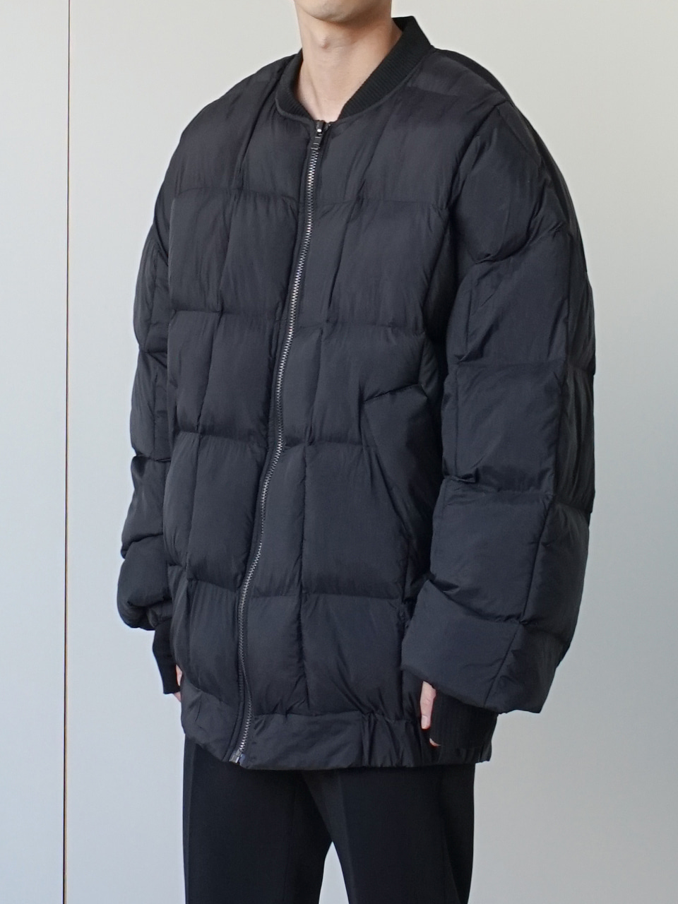 Jay Oversized Padded Jacket (2color)