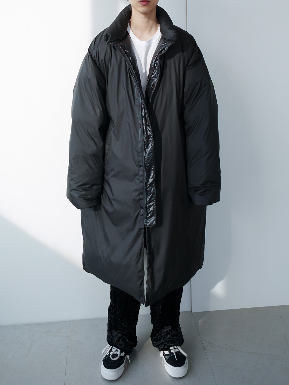 Bray Duck Down Reversible Parka (2color)
