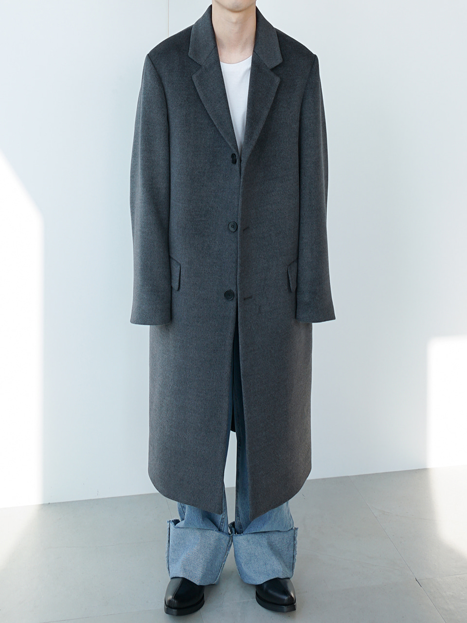 Hade Wool Blend Coat (2color)