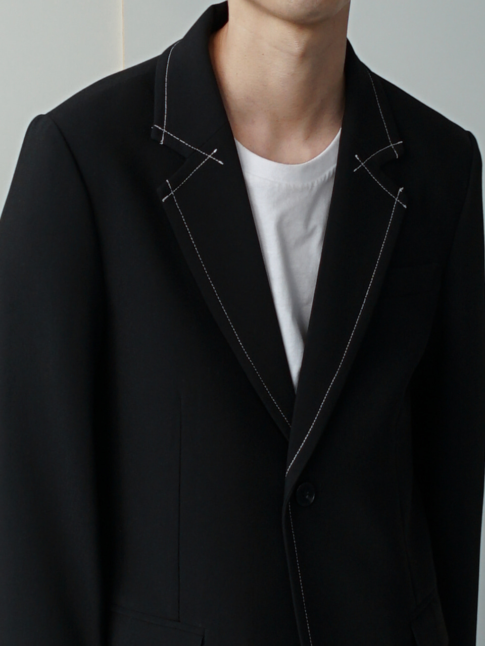 Modern Stitch Blazer (2color)