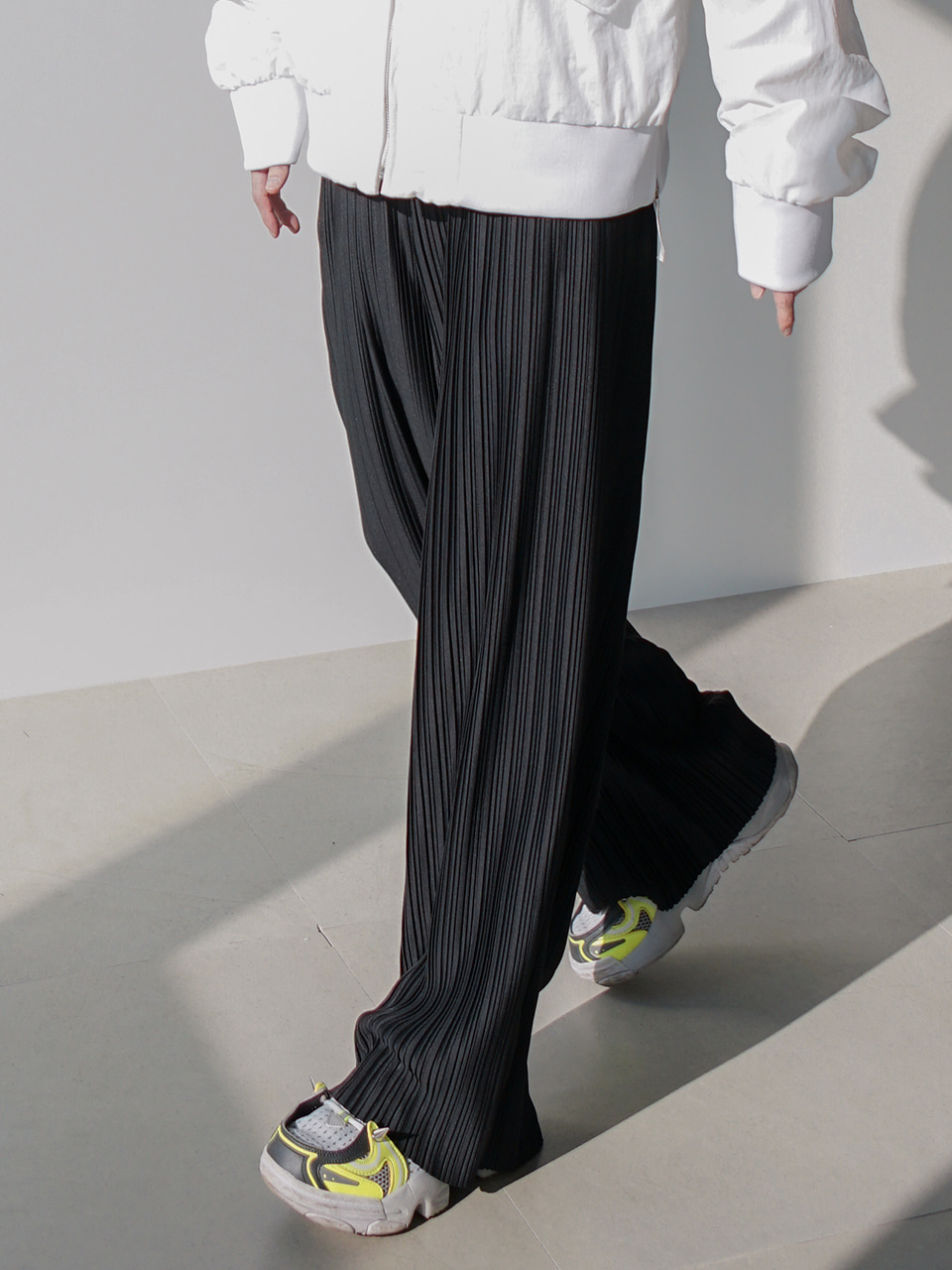 Another Pleats Pants (3color)