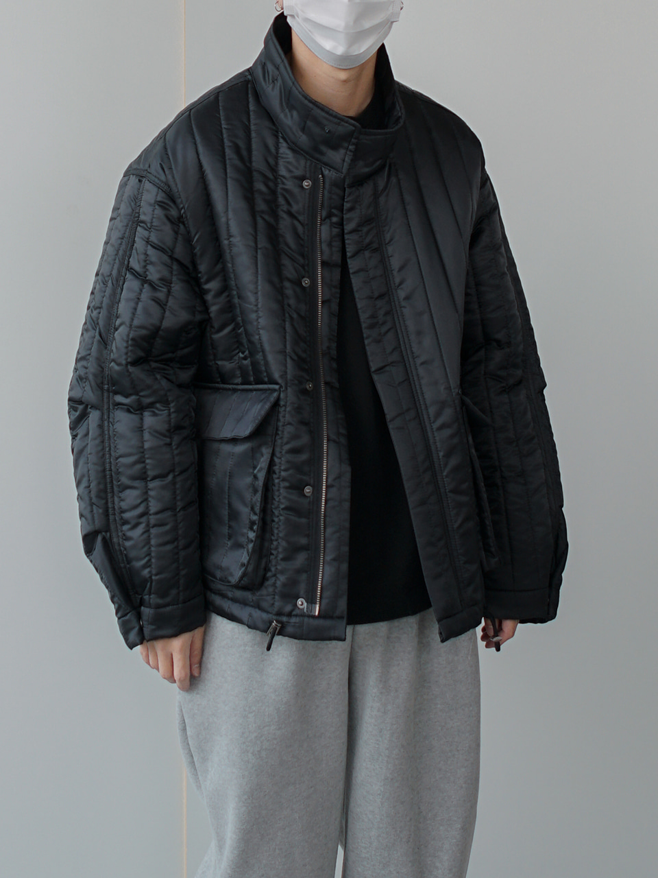 Serow Quilted Padding Jumper