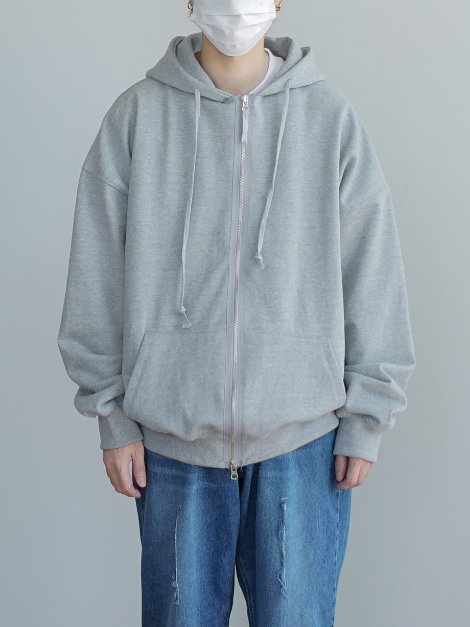 Lililc Hood Zip-Up (5color)