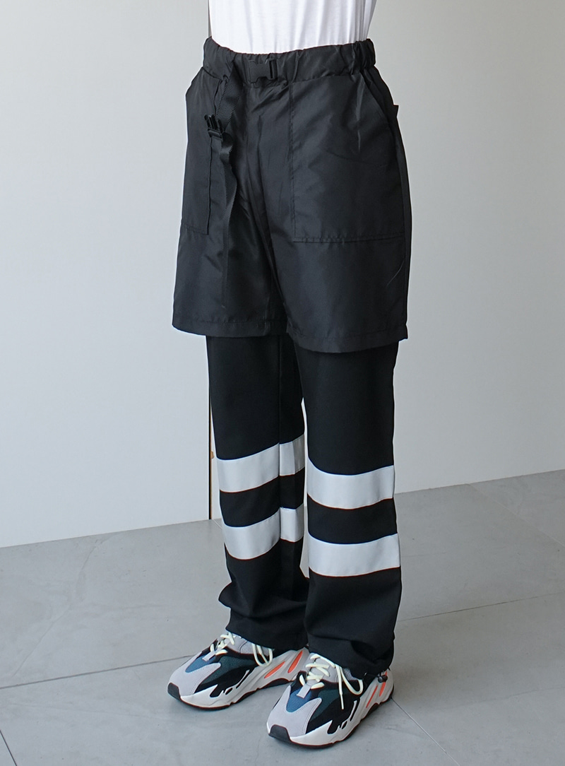 Double Layered Scotch Pants (2color)