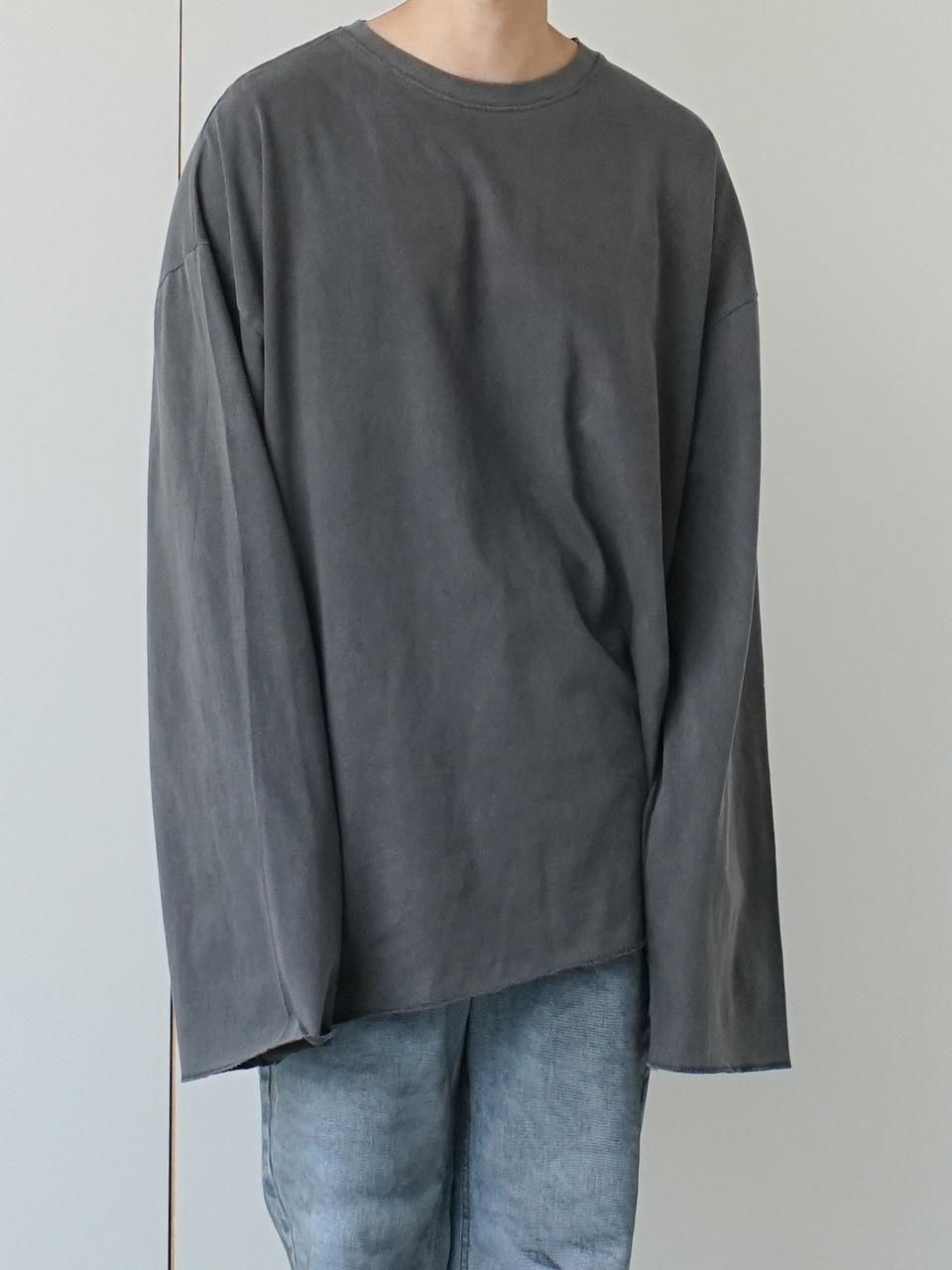 Hansen Washed Long Sleeve Tee (3color)