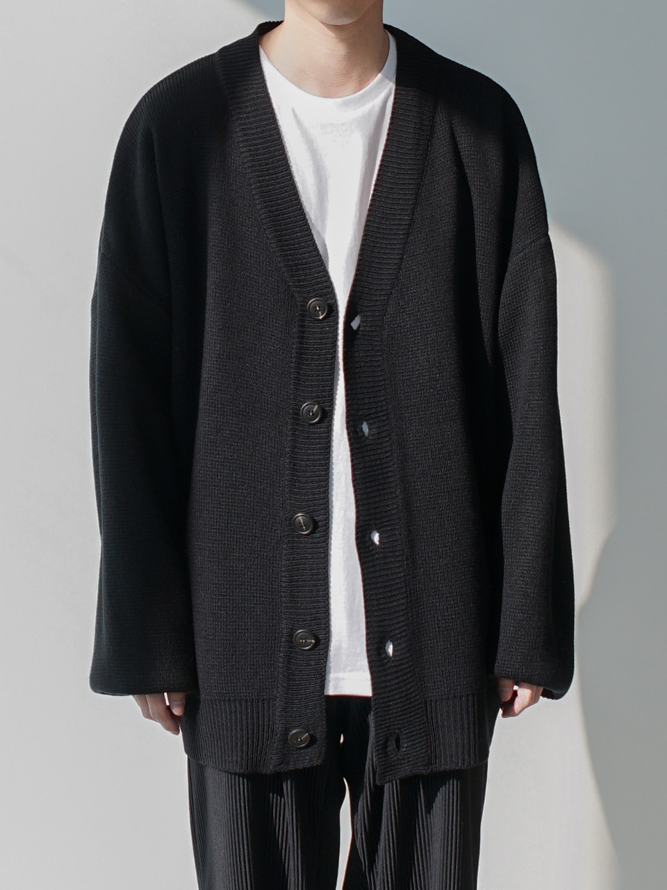 Frank V Neck Cardigan (4color)