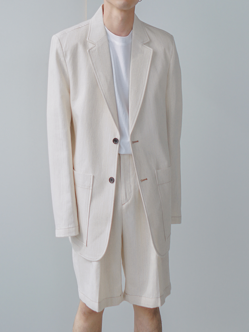 Mighty Cotton-Linen Blazer