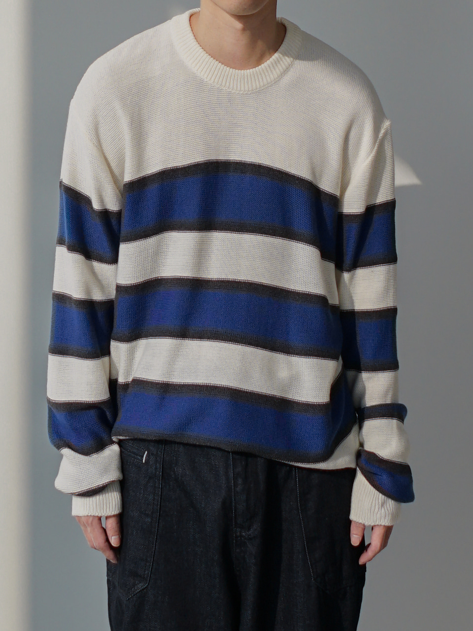Mune Stripe Knit (3color)